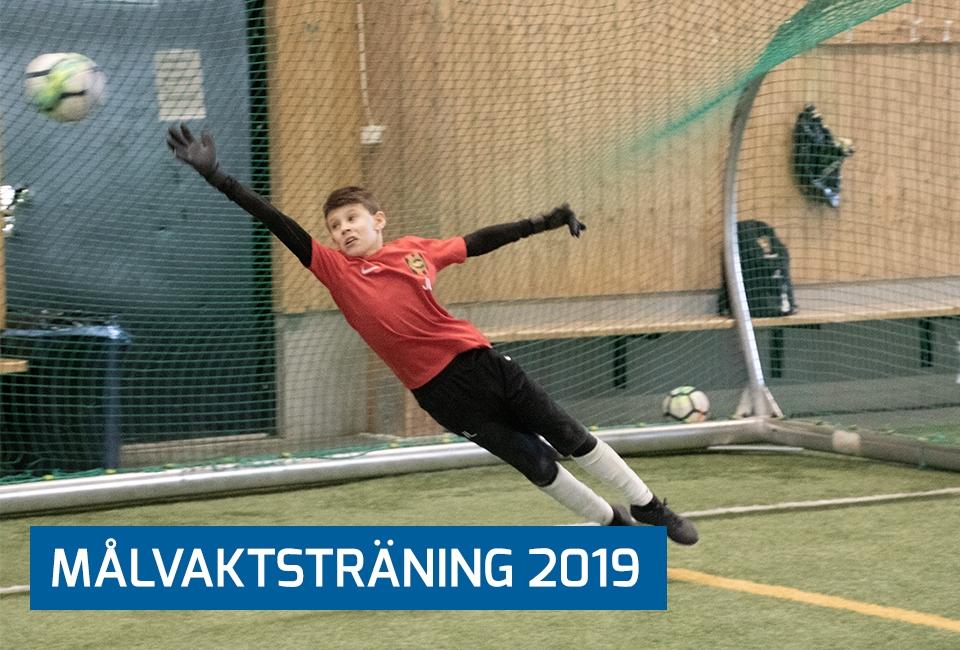 Målvaktsträning 2019