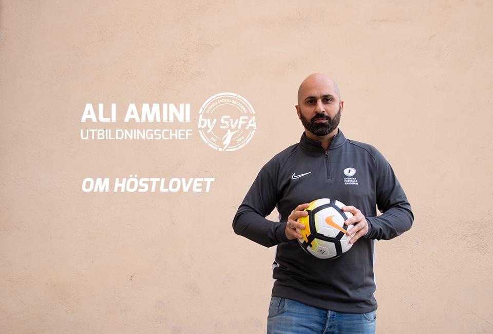 Höstlovscamper med Ali Amini