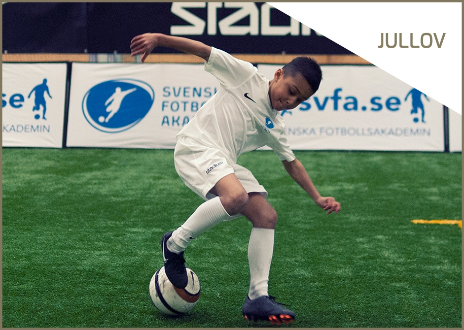 Fotbollstältet Nacka IP 2-3 januari